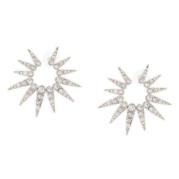 d55e30e3d Oscar de la Renta Jewelry | Sea Urchin Crystal Earrings | Poshmark